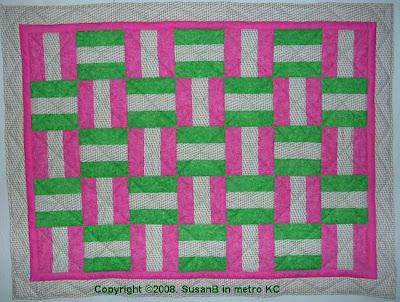 bar block quilt