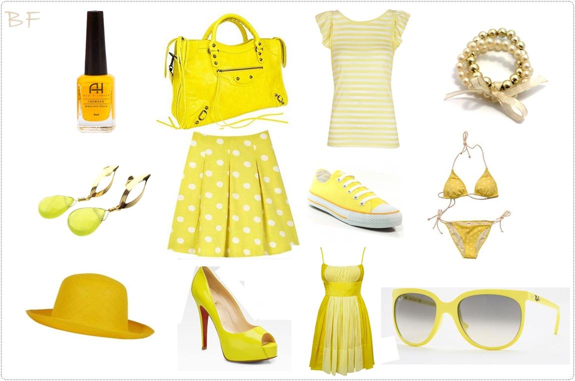 Dá pra usar muito o amarelo em
