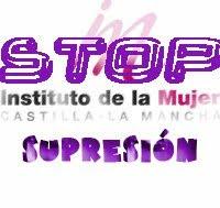 No a la supresión del Instituto de la Mujer