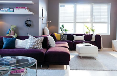 Best modern living room design ideas for 2010 from IKEA