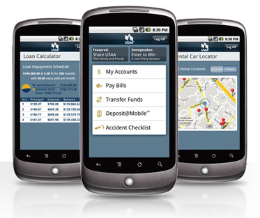 Mobile Banking USAA Launches Android Application