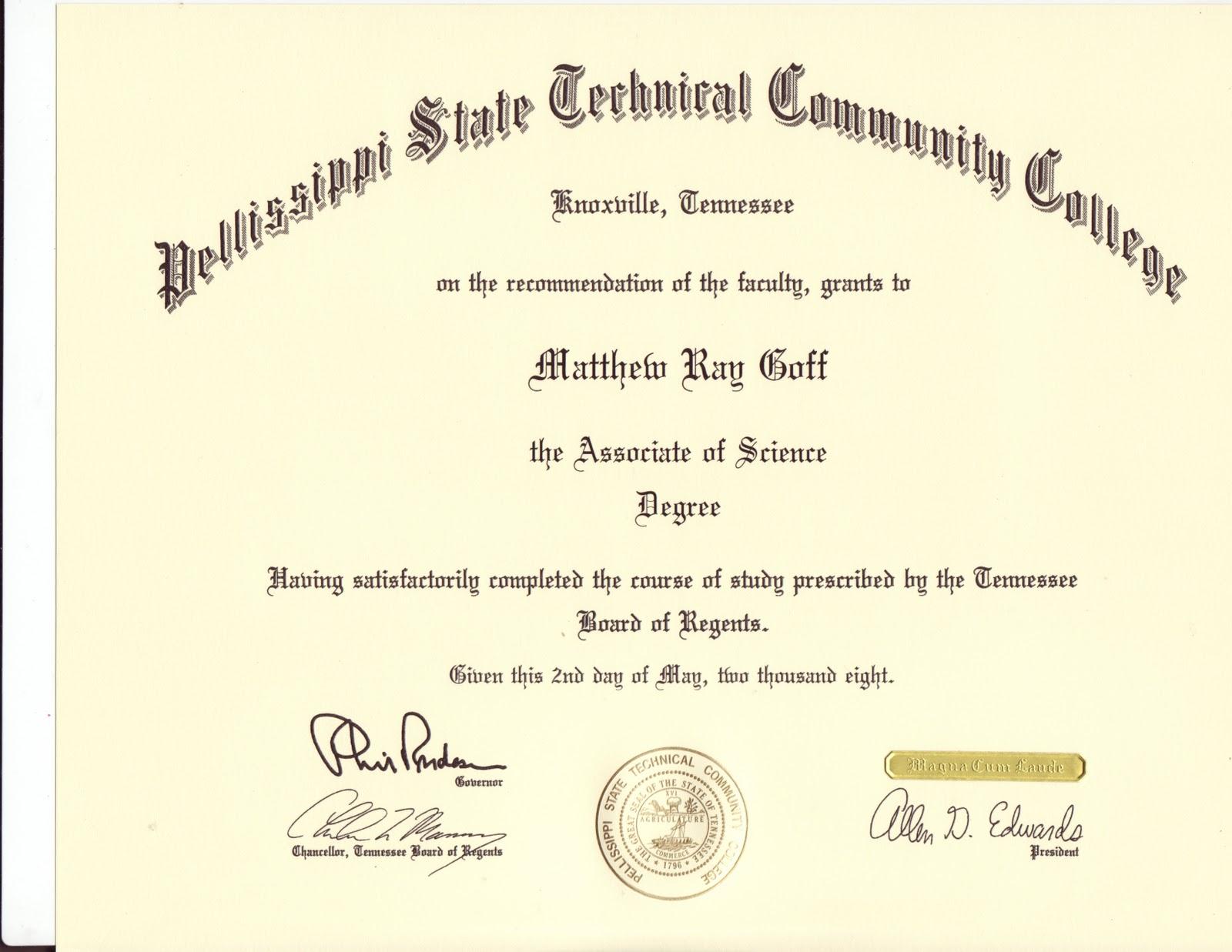 matthew goff u0026 39 s portfolio  certifications and scholarships