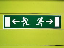 Izquierda y Derecha, con humor