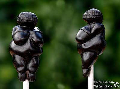 escultura madera ebano venus