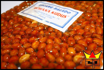 Camilan Padang KACANG BALADO (Close Up)