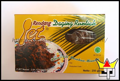 Camilan Padang RENDANG DAGING RUNTIAH (YET)