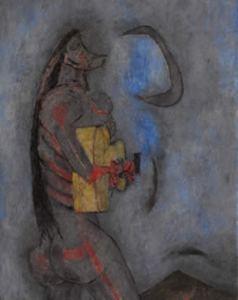 LO DEJADO ILUMINADO, de paco redondo, inspirada en el Popol Wuj