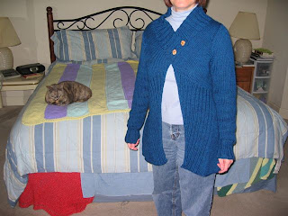 Clothes Knitting Downloads - Silver Dollar Duster Knit Pattern