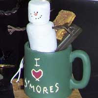I love S'mores ornament