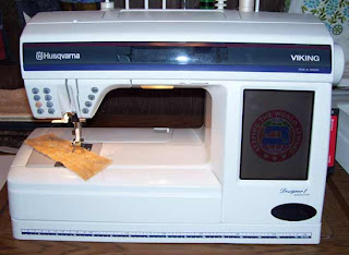 My first embroidery machine, the Designer 1, is still a favorite.
