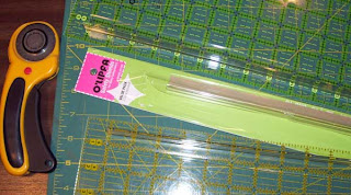 An important safety device for quilters - Safety Guards for rulers.