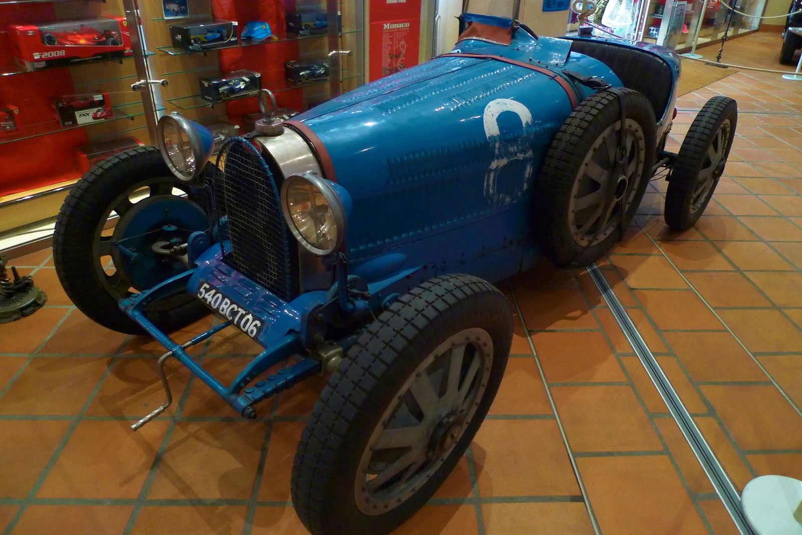 The Bugatti Type 35B that won
