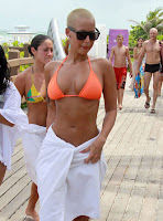 Sexy and Hot AMBER ROSE in Miami Beach