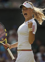 Tennis Beautiful Ace CAROLINE WOZNIACKI OF DENMARK