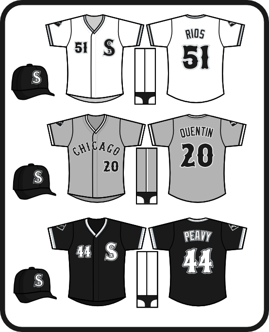 how to draw the chicago white sox logo. Chicago White Sox