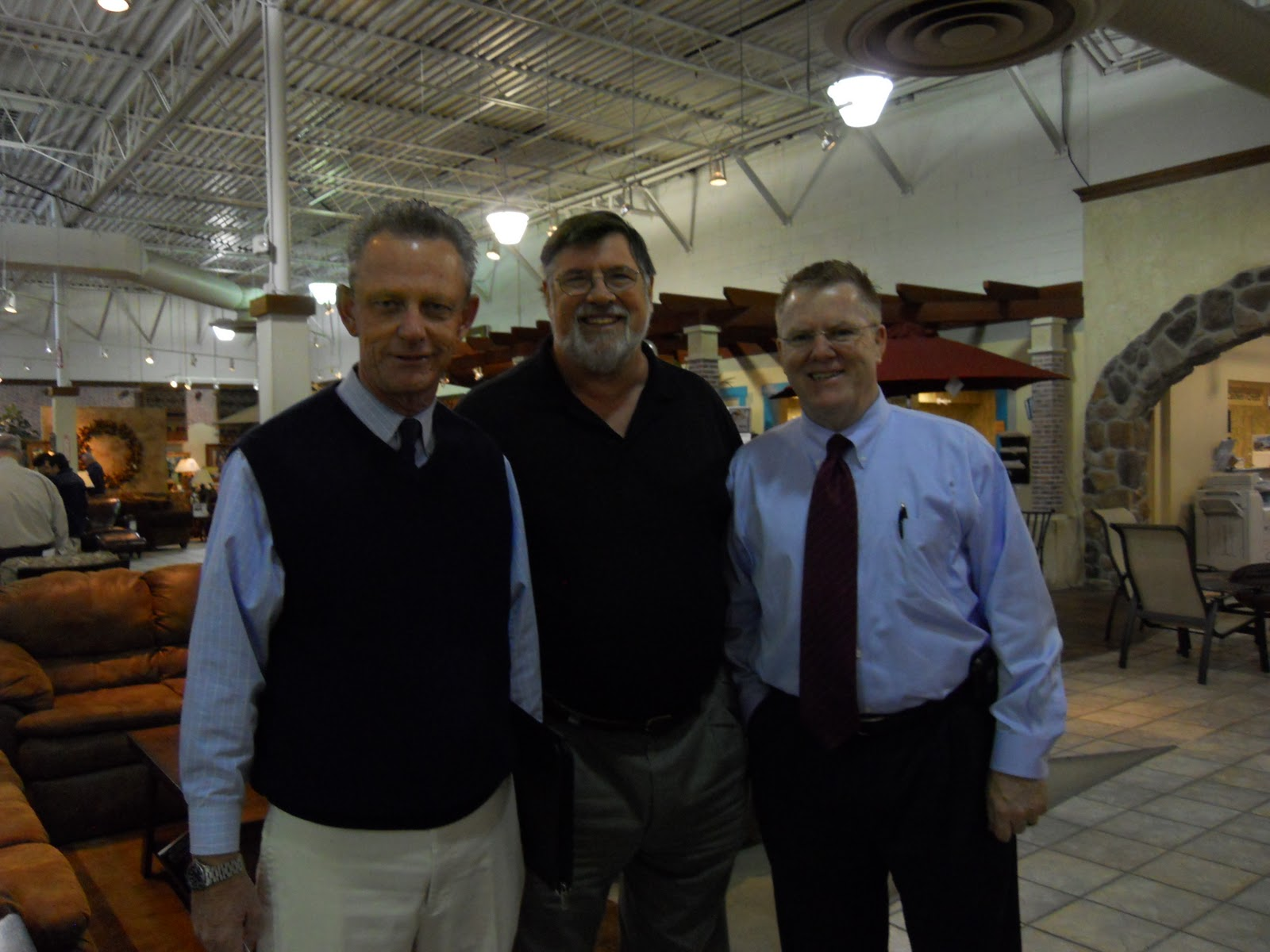 John Russo, Dennis, U0026 Tom Scott At Sam Levitz Furniture
