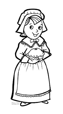Image Result For Pilgrim Coloring Pages