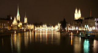 Zurich by night (onemorehandbag)