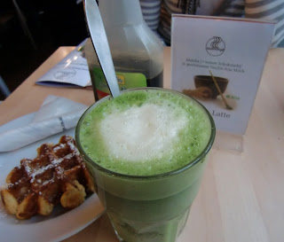 matcha latte @ blueorange (onemorehandbag)