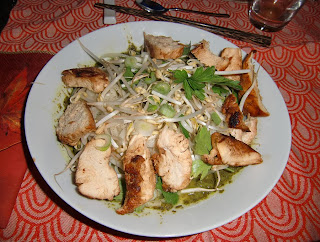 udon salad (onemorehandbag)