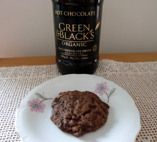 cookies with instant cocoa powder (onemorehandbag)