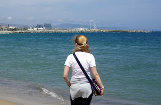 Barceloneta beach (onemorehandbag)