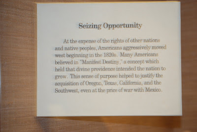 Seizing Opportunity - Exhibit Narrative, May 28th, 2010 Autry Museum Of Western Art, Los Angeles, CA