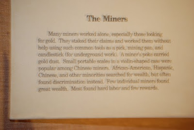 The Miners - Exhibit Narrative, May 28th, 2010 Autry Museum Of Western Art, Los Angeles, CA