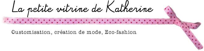 la petite vitrine de  Katherine
