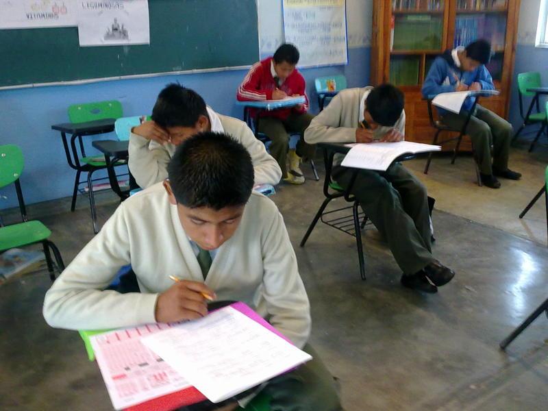 Escuelas Telesecundarias participan en la Olimpiada Mexicana de la Geografía 2011