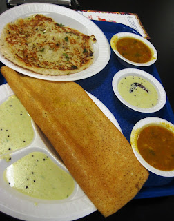 The Taxi Astrologer's Masala Dosa