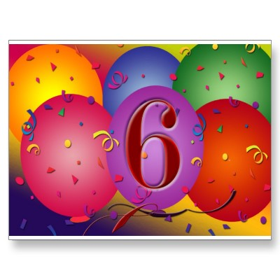 6-happy-6th-birthday-handfinished-6th-birthday-card-3002606-0 ...