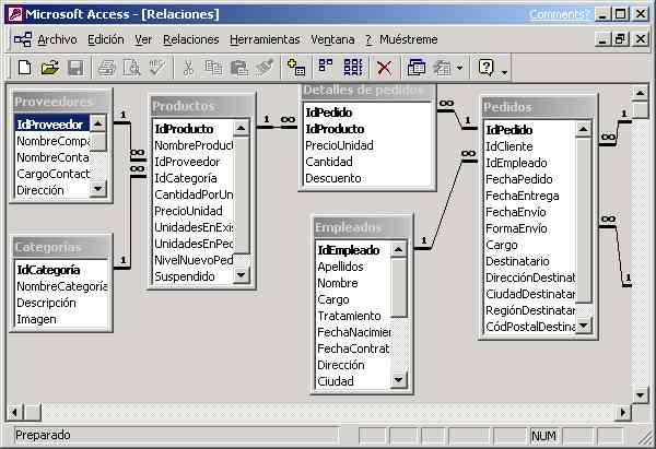 descargar ejemplos de bases de datos en access 2007