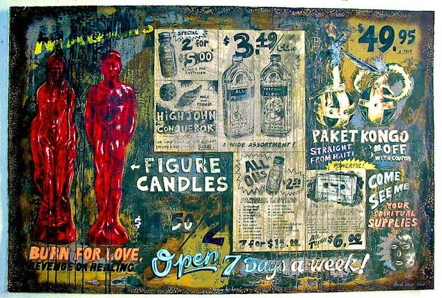 Artist: Renee Stout, Burn for Love