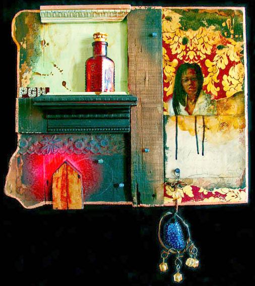 Artist: Renee Stout, Pretty Poison
