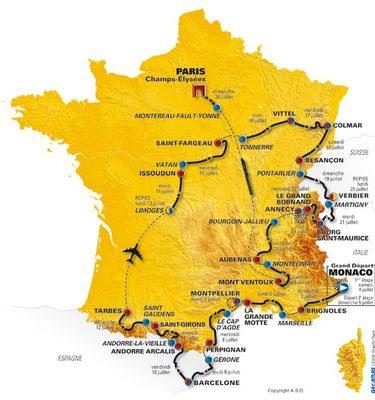 tour de france map 2010. hot The 2011 Tour de France