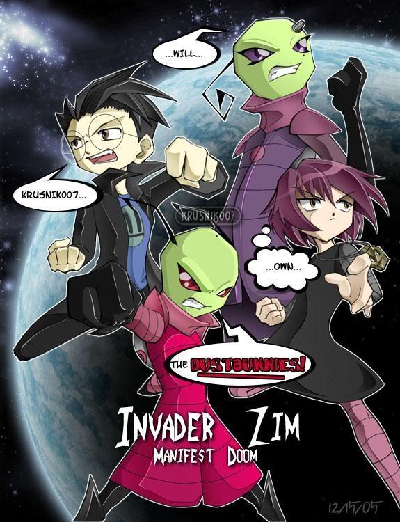 Invader Zim: Manifest Doom Completo + Extras Dustbunnies