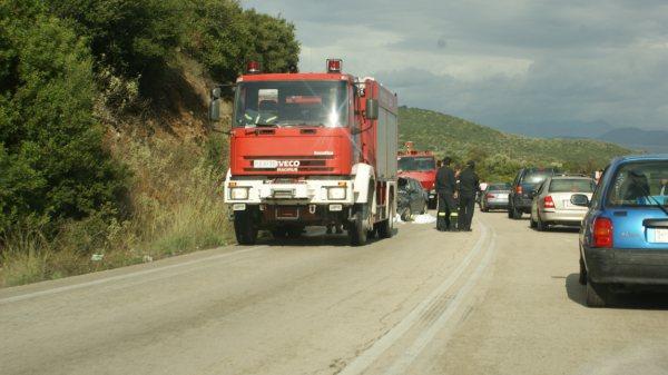 Διαμαρτυρία κατοίκων για τα τροχαία ατυχήματα στο δρόμο Παλιάμπελα-Βόνιτσα