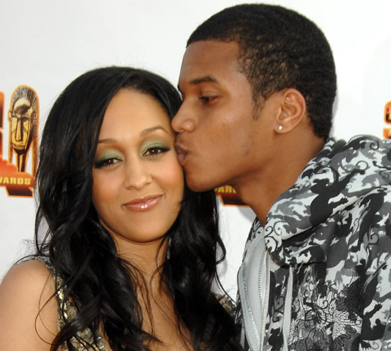 tia mowry baby shower pictures. The aby is due in July.