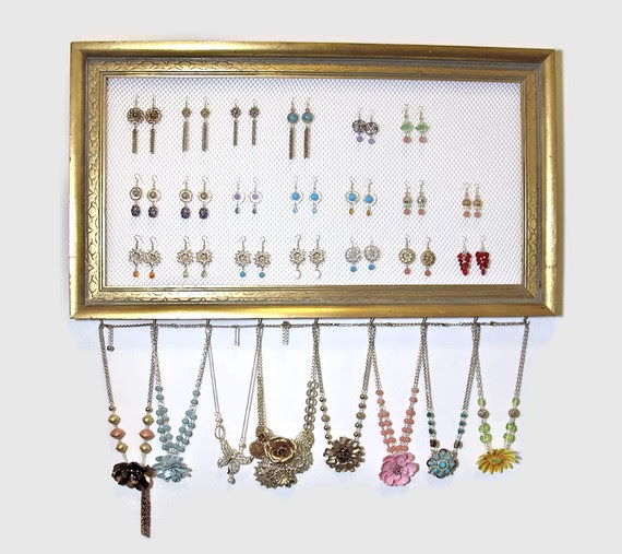 BluKatKraft: Simple DIY Jewelry Organizer; Get Your ...