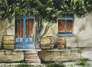 Old wine house