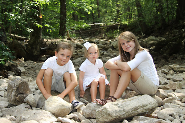 Sandlin children July 2010