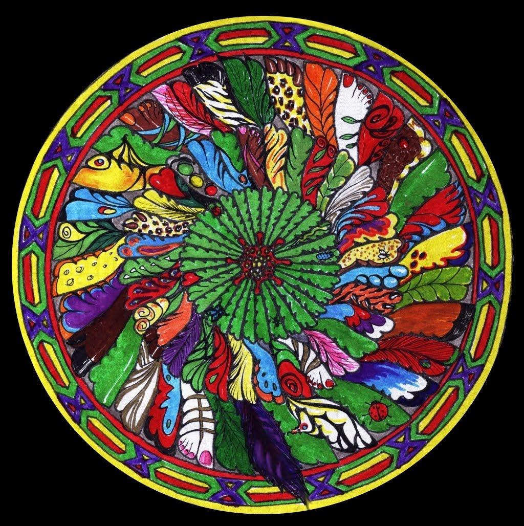 MANDALAS PINTADOS 1 Mandala+transformado+3br