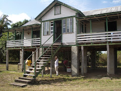 Our house on stilts, Dadanawa Ranch