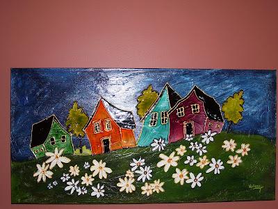 Scrap et compagnie une peinture faite pendant mes vacances - Image a peindre gratuit ...