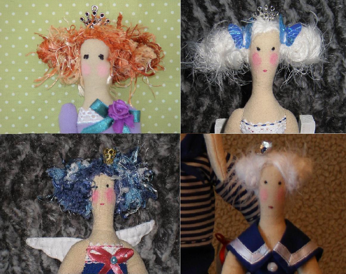 Тильда куклы из чего делают волосы