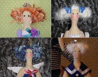 Волосы для куклы из ткани своими руками 71
