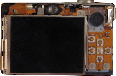 canon sd powershot cracked lcd repair