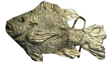 fish cast belt buckle