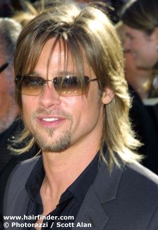 brad pitt troy hair. Brad Pitt Short Hair
